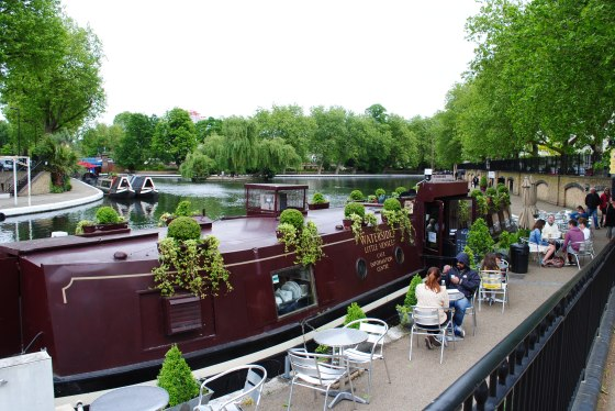 The Floating Boater in Little Venice